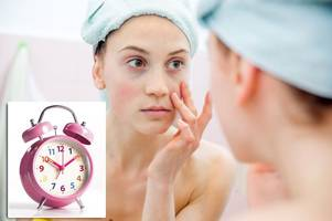 clocks go forward this weekend - and there are some unpleasant skin side-effects