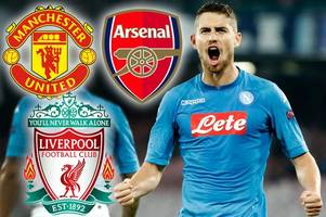 liverpool lead manchester united and arsenal in jorginho transfer race as emre can prepares for anfield exit