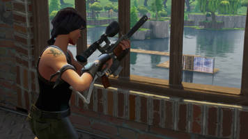 Fortnite's latest patch is adding a brand new gun
