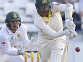 Australian tail-enders Lyon and Paine frustrate South Africa