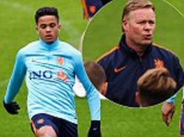 holland plan for bright future after missing out on world cup