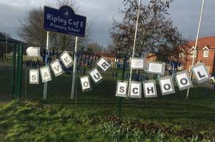 ripley primary school closure: county council 'failed our school', say parents