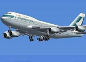 Hong Kong carrier Cathay Pacific sees annual loss, outlook upbeat