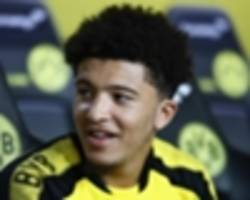 gotze and sahin mentoring jadon sancho at dortmund