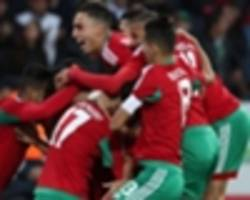 morocco world cup: how the group b teams fared