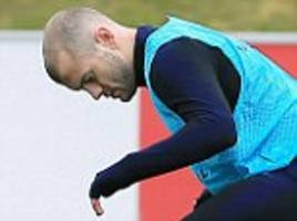 jack wilshere ruled out of england's clash with italy