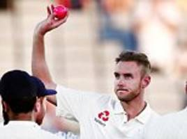 stuart broad: no england excuses in new zealand and i've not even thought about 400th wicket