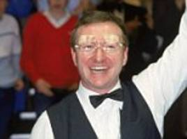 ten seconds of snooker made me £60,000: dennis taylor on money