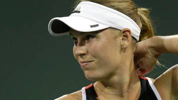 Caroline Wozniacki claims Miami Open fans made death threats in defeat to Monica Puig