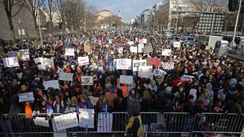 the march for our lives isn't just happening in the us