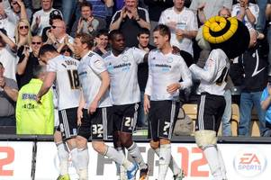the day derby county secured their 2,000th competitive win with victory over a crystal palace side featuring chris martin