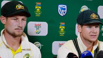 cameron bancroft and steve smith admit ball-tampering plan for australia against south africa