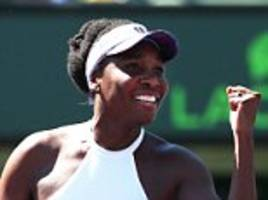 venus williams pulls off dramatic escape to reach miami open last-16 to edge past bertens