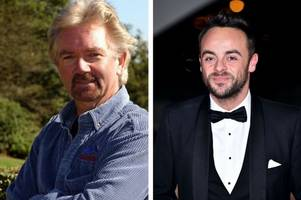 noel edmonds shares support to ant mcpartlin, says the tv star needs 'rock-solid' people around him