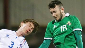 northern ireland u21s held by iceland