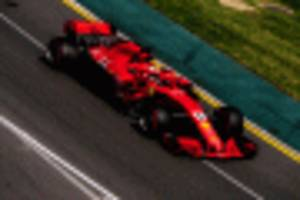 luck on ferrari's side as vettel takes win at formula 1 australian grand prix