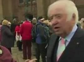 'excuse me, are you roy hudd?': woman interrupts jimmy tarbuck