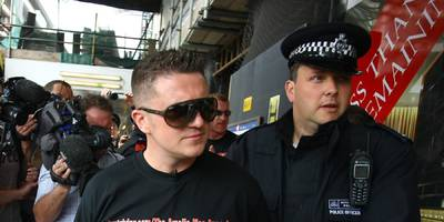 british far-right activist tommy robinson has been banned from twitter (twtr)