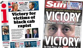 the papers: cabbie victims' victory and brexit countdown
