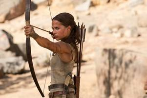 this iconic tomb raider action sequence was filmed at the lee valley white water centre in waltham cross