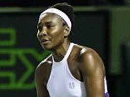 venus williams out of miami open after quarter-final defeat by danielle collins