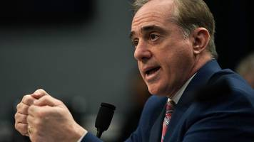david shulkin: sacked secretary in parting shot at trump