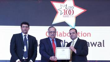 nuvoco cfo wins cfo100 roll of honour award