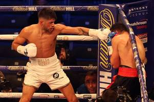 welsh boxer joe cordina just paid tribute to his beloved cardiff city on the undercard of anthony joshua v joseph parker