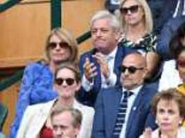 sports-loving speaker john bercow accepted tickets and hospitality worth £16,000 in past year