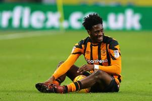 ola aina placing world cup dream on hold as he focuses on keeping hull city in the championship