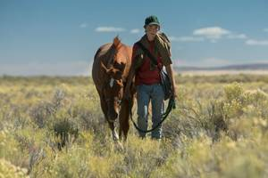 'lean on pete' review: andrew haigh's boy-and-his-horse tale hits hard
