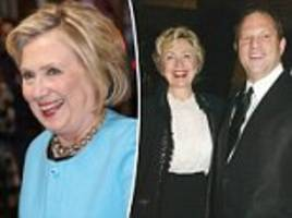 hillary clinton takes credit for #metoo despite weinstein ties