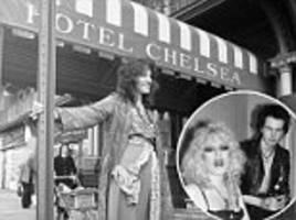nyc's chelsea hotel souvenirs go up for auction