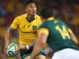 rugby australia chief and waratahs boss will meet israel folau after anti-gay post