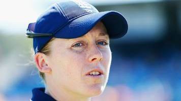 india v england: heather knight misses first odi, anya shrubsole to lead