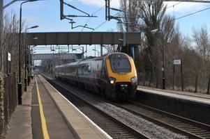 marston green station closed after person hit by train - major delays