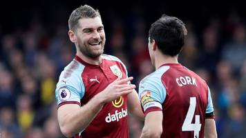 vokes & cork on target as burnley overcome watford