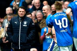 rangers 4 dundee 0 as kenny miller shines on return to starting xi - 3 talking points