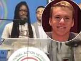 parkland survivor reveals she hid from gunman under the body of a dead classmate