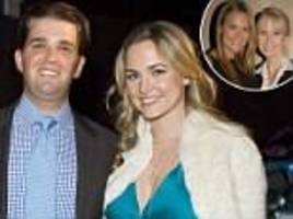 vanessa trump 'filed for divorce from don jr after family windfall'