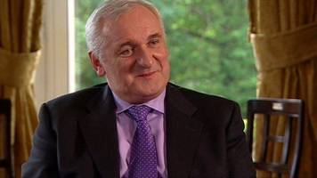 ahern: issues facing ni politicians 'not as difficult' as 1998