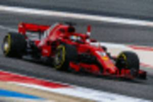 vettel holds on to win 2018 formula 1 bahrain grand prix