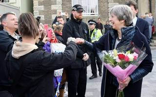 may more popular than corbyn for first time since ge 2017