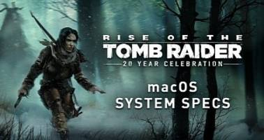rise of the tomb raider will support intel, amd radeon, and nvidia gpus on macos