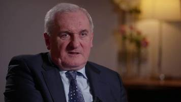 public 'would pull down irish border' - ahern