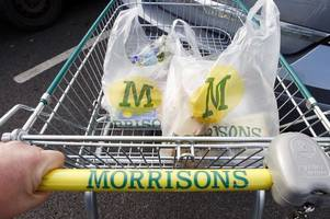 morrisons to ditch 5p plastic carrier bags from all stores by the end of the year