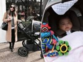 beyoncé, kylie jenner and bloggers go wild for £200 nuna buggy