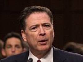 fired fbi director james comey compares trump to a mob boss in interview