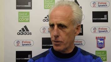 mick mccarthy 'sadly' leaves ipswich town after six years in charge