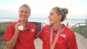 commonwealth games: 'things i like' with england triathlon aces vicky holland and jess learmonth